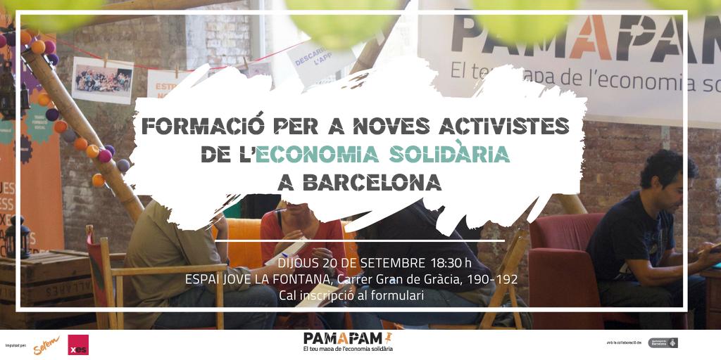 Formació per a noves activistes Pam a Pam.
