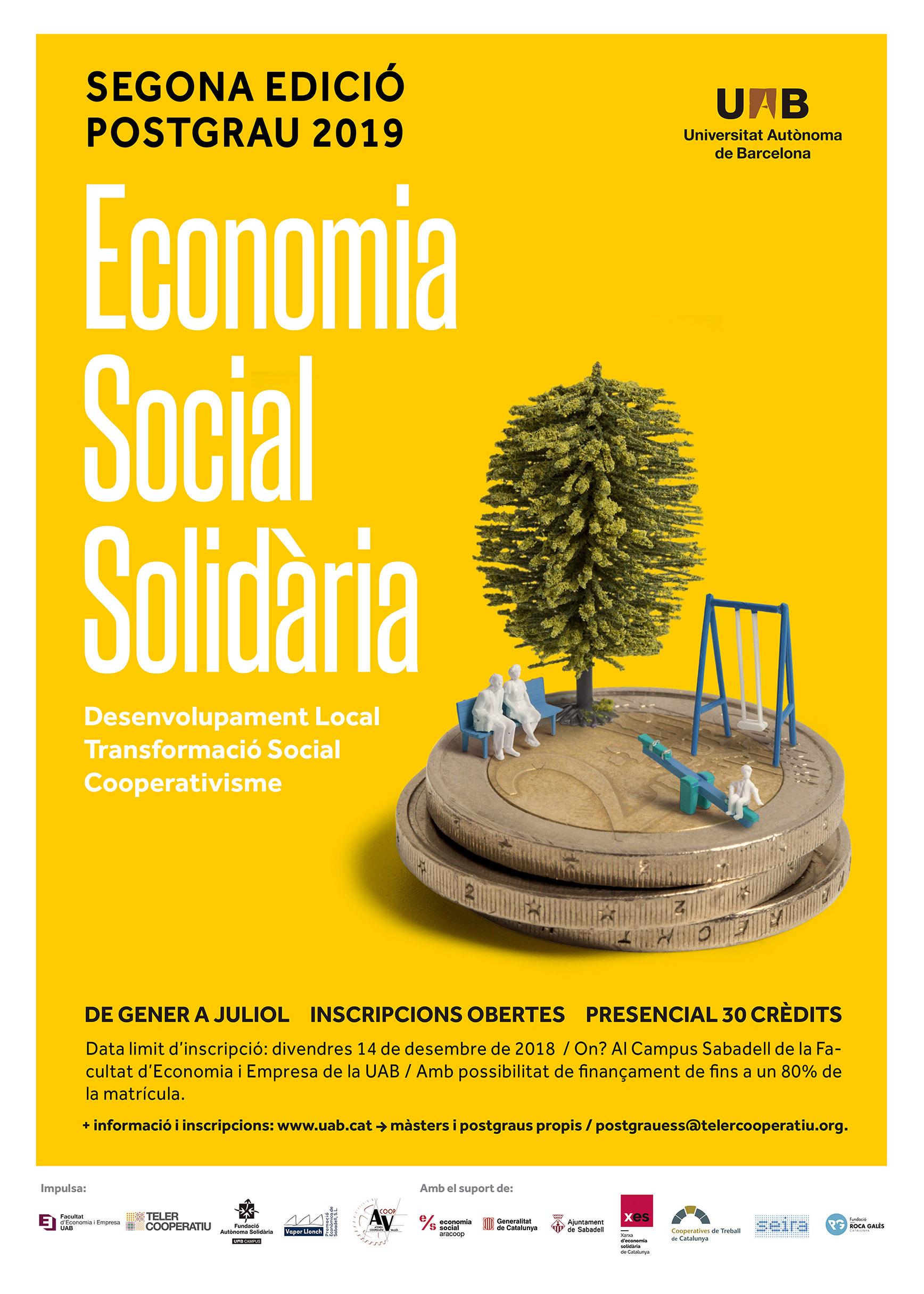 Postgrau Economia Solidària