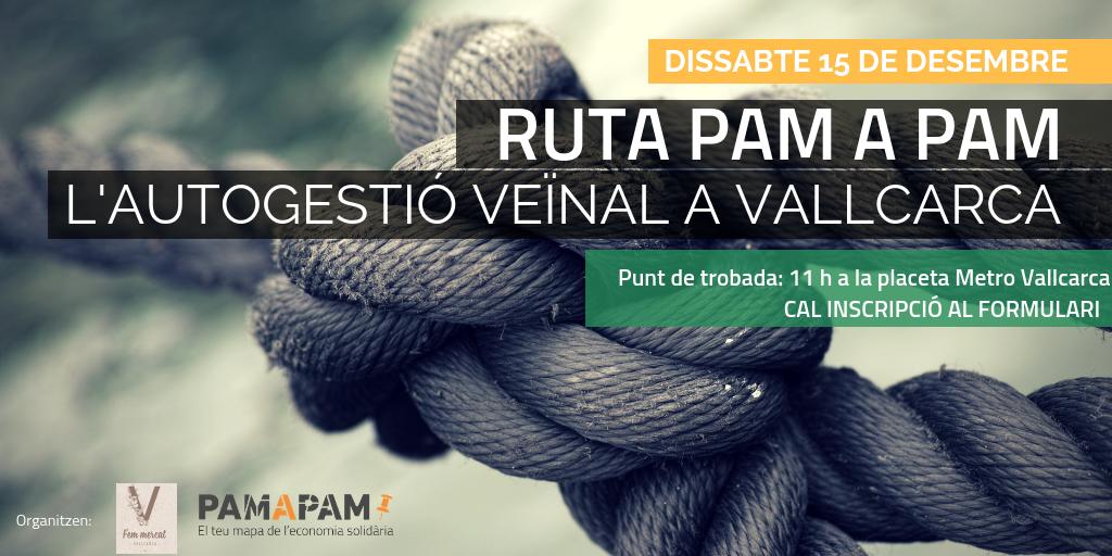 Ruta Pam a Pam Vallcarca
