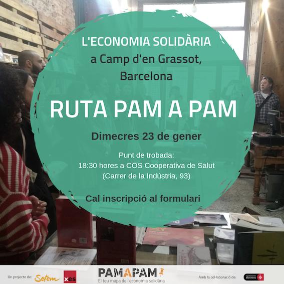 Ruta Pam a Pam d'Economia Solidària