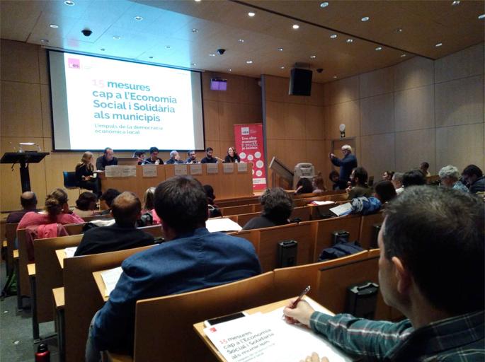 Acte central de presentació a Sabadell