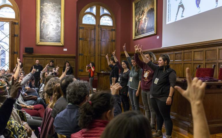 Llits solidaris al Fòrum Social Mundial