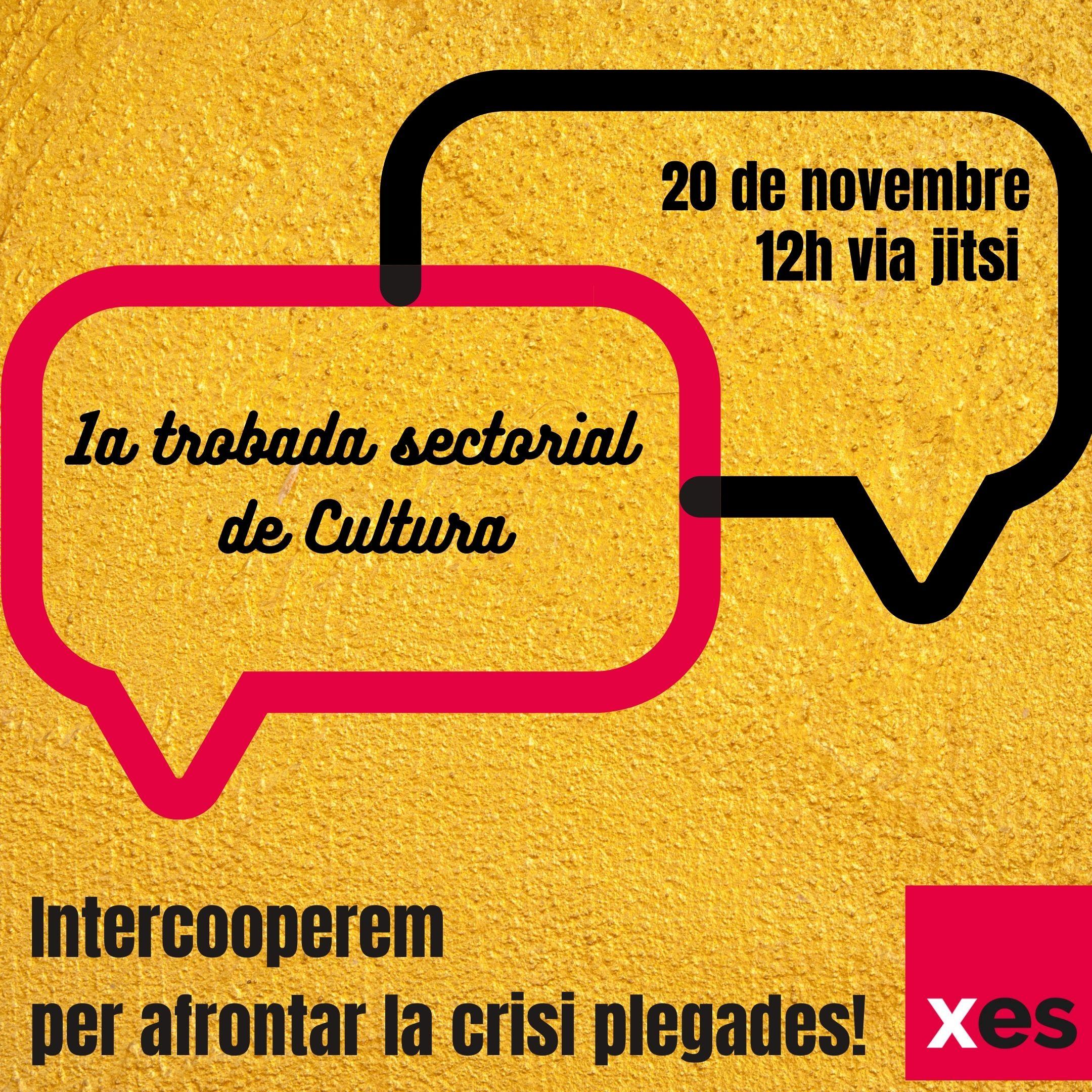 1a trobada intercooperació sector Cultura