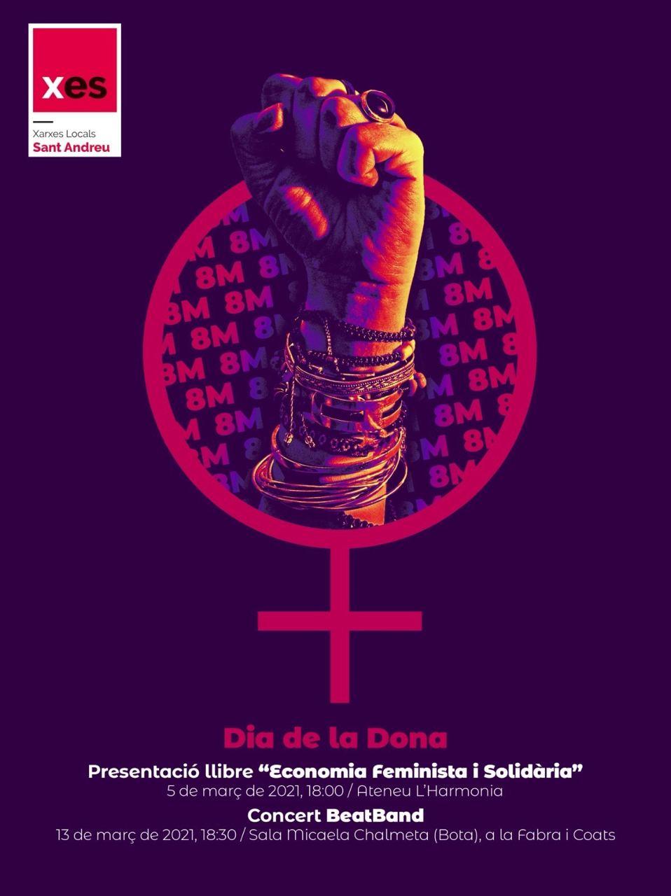 Concert Beat Band - Dia de la Dona a Sant Andreu