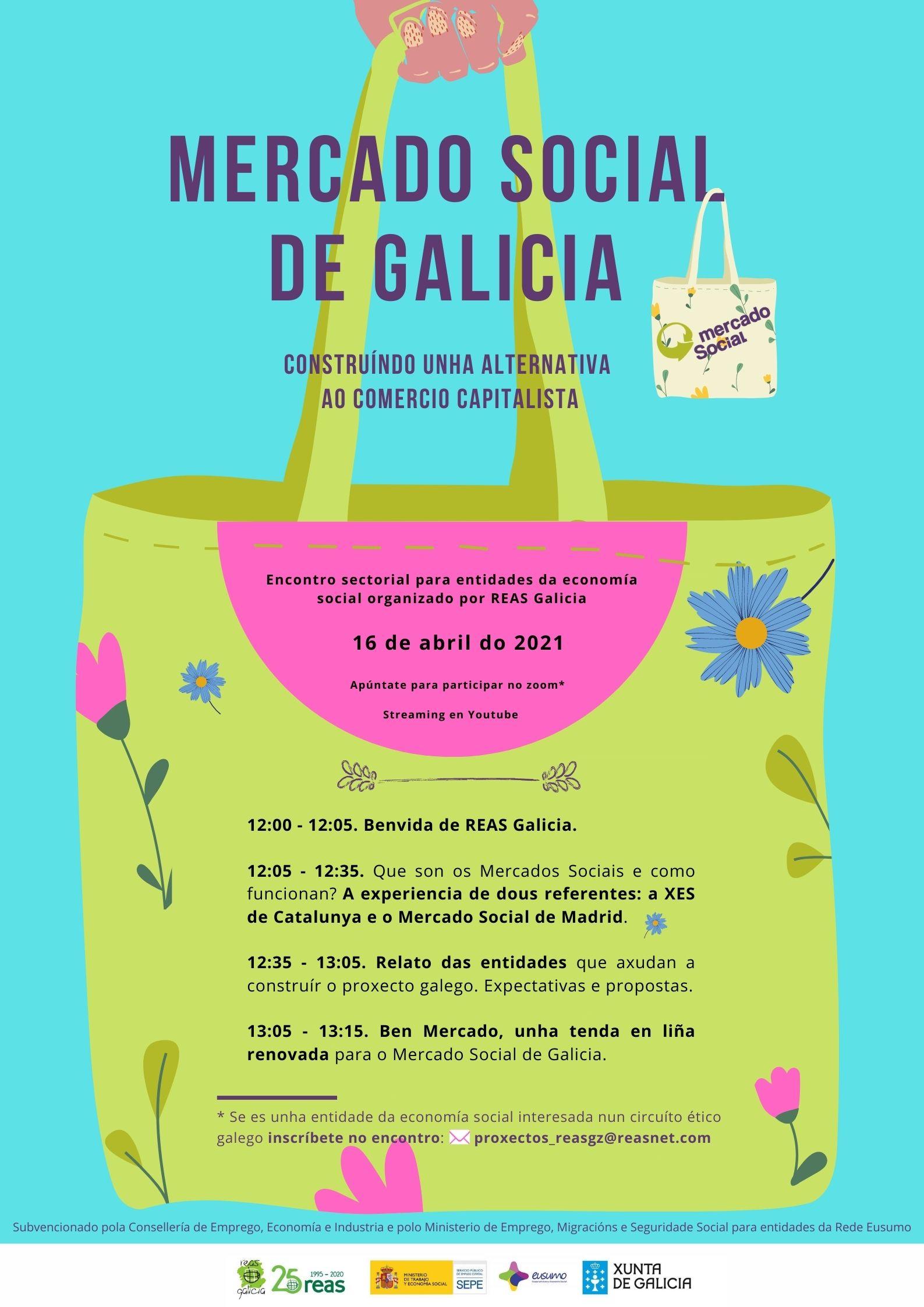 Encontro Mercado Social Galicia,