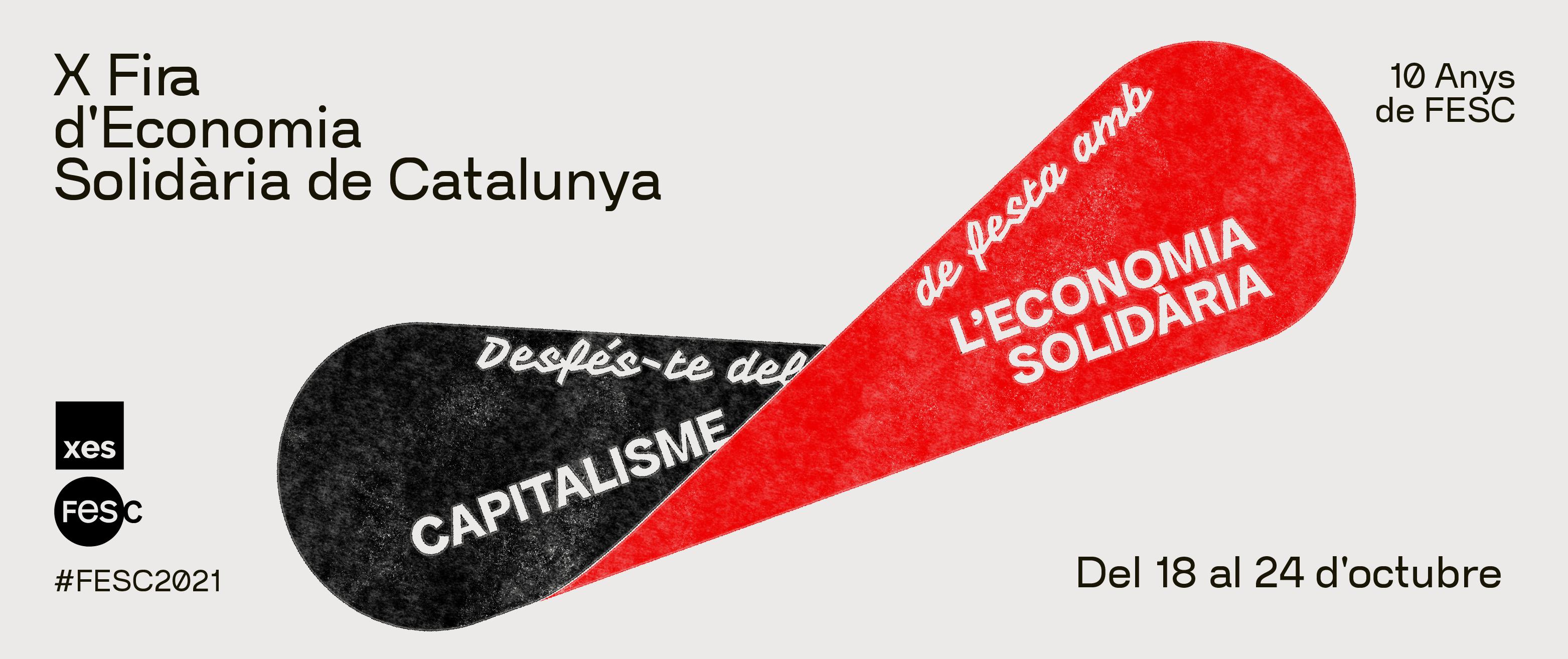 FESC2021: Desfés-te del capitalisme, de festa amb l'economia solidària!